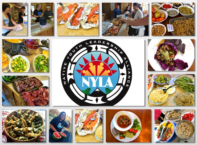 NYLA Food and Community Collage